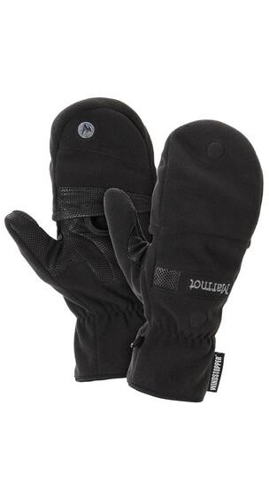 Marmot M's Windstopper Convertible Glove Black (001)